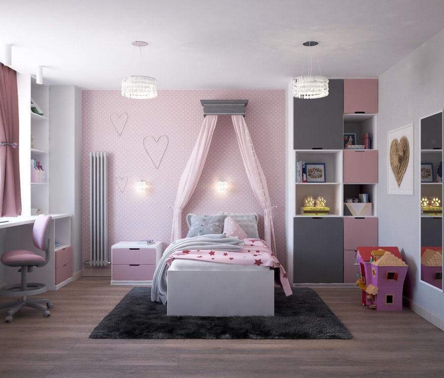 Pokój małej dziewczynki – sprawdź, czego nie może w nim zabraknąć